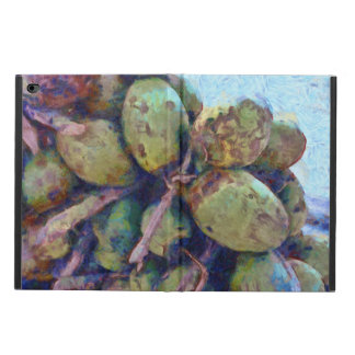 Tender coconuts in a pile powis iPad air 2 case