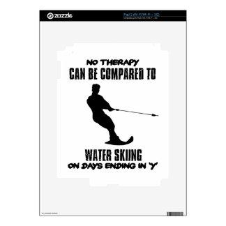 Tender diseños del esquí acuático iPad 2 skin