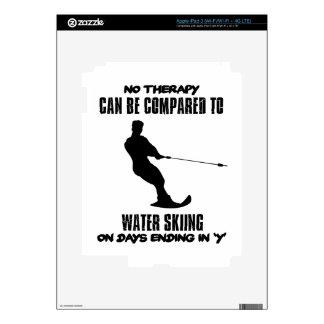 Tender diseños del esquí acuático iPad 3 pegatinas skins