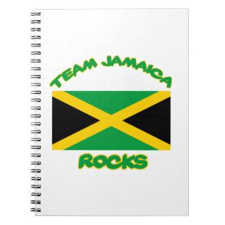 Tender DISEÑOS jamaicanos Libro De Apuntes Con Espiral