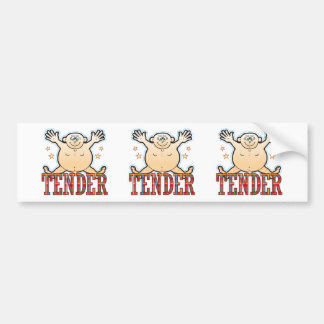 Tender Fat Man Bumper Sticker