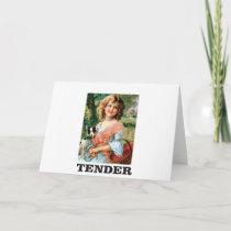 tender girl card