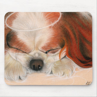 Tender Heart Angel Puppy Mousepad