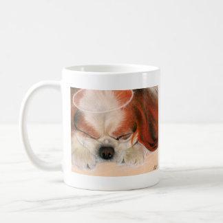 Tender Heart Angel Puppy Mug