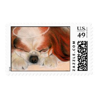 Tender Heart Angel Puppy Postage