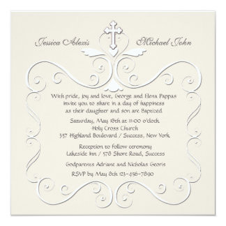 Tender Heart Religious Invitation
