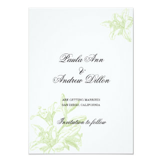 Tender Lilies Card