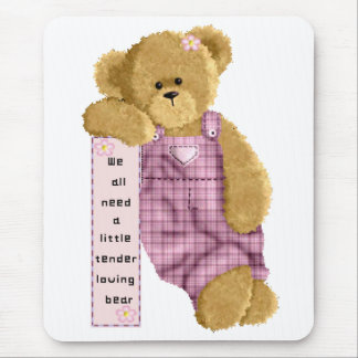 Tender Loving Bear Mouse Pad