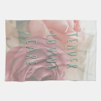 Tender loving care hand towel