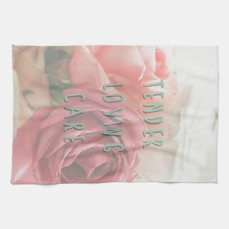 Tender loving care kitchen towel