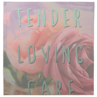 Tender loving care napkin