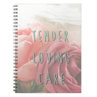 Tender loving care notebook
