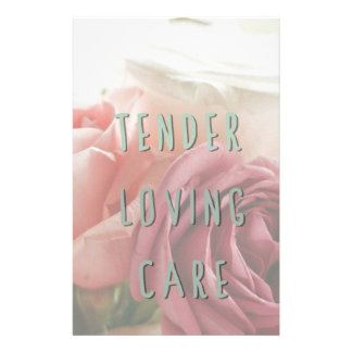 Tender loving care stationery