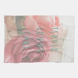 Tender loving care towel