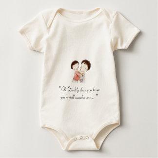 Tender moment baby bodysuit