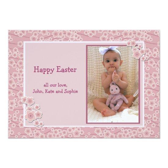 Tender Photo Easter Card