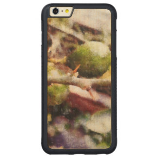 Tender raw lemons carved maple iPhone 6 plus bumper case