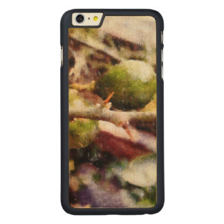 Tender raw lemons carved maple iPhone 6 plus case