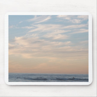 Tender sunset mouse pad