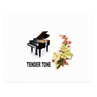 tender tone display postcard