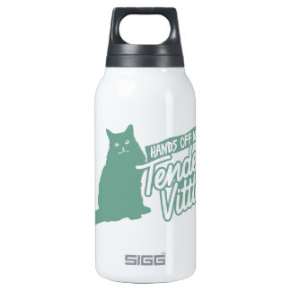 Tender Vittles  Hands Off! 10 Oz Insulated SIGG Thermos Water Bottle