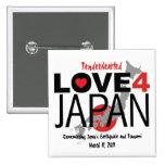 Tenderhearted Love 4 Japan Pinback Button