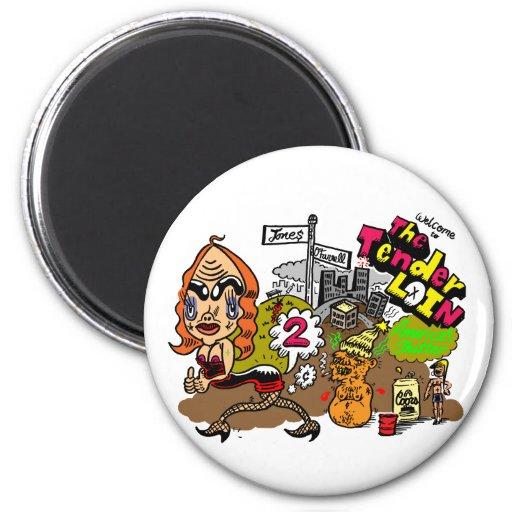 tenderloin fridge magnets