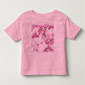 tenderly and pink toddler t-shirt