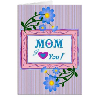 Tenderly Mother's Day Greeting Card