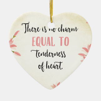Tenderness of Heart Ceramic Ornament