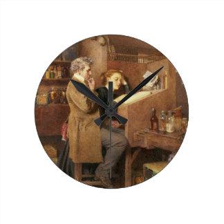 Tendero y esposa, 1868 relojes de pared