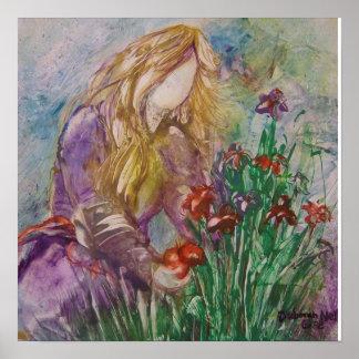 """Tending The Garden"" Poster"