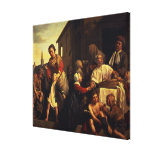 Tending the Orphans Stretched Canvas Print