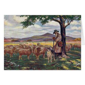Tending the Sheep Card