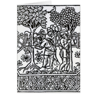 Tending Vines Card