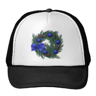 Tendré navidad azul gorras de camionero