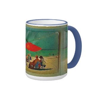 Tendré una playa de Cuppa Taza De Dos Colores