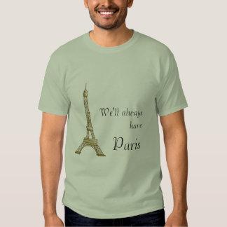 Tendremos siempre París Remera