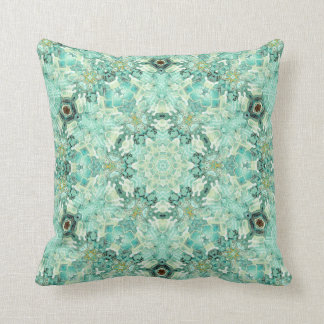 Tendresse 21-28 Aqua Mandala Pillows