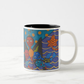 Tendresse Two-Tone Coffee Mug