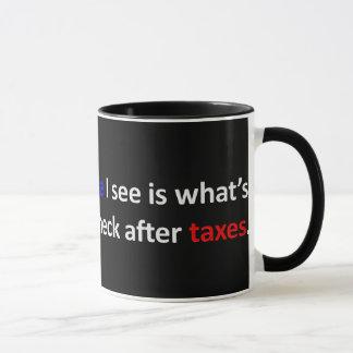 Tendría bastante una cheque que esperar o cambiar taza