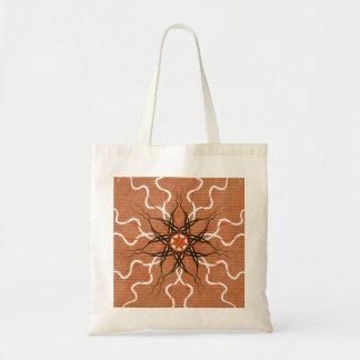 Tendril Mandala Canvas Bags