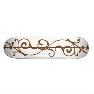 Tendrillon Ivory (Brown) Skateboard Deck