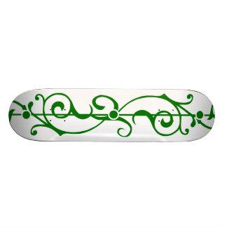 Tendrillon Ivory (Green) Skateboard Deck