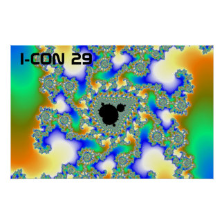 tendrils2, I-CON 29 Poster