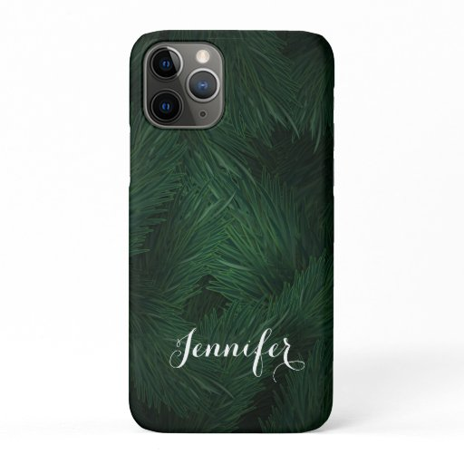 Tendy personalized elegant tropical iPhone 11 pro case