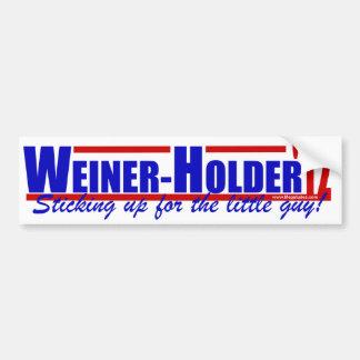 Tenedor '12 de Weiner - Anthony Weiner - tenedor d Pegatina De Parachoque