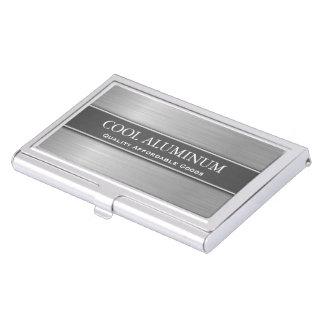 Tenedor de acero/de aluminio de la tarjeta de cajas de tarjetas de negocios