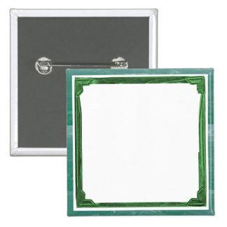 Tenedor de la imagen/del texto de la frontera del pin cuadrada 5 cm