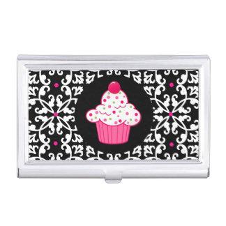 Tenedor de la tarjeta de visita de la panadería de caja de tarjetas de negocios